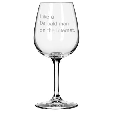 Cards Against Humanity Wine Glasses