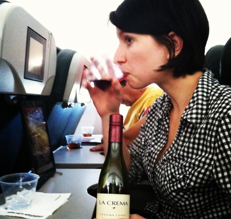 airlines with good wine