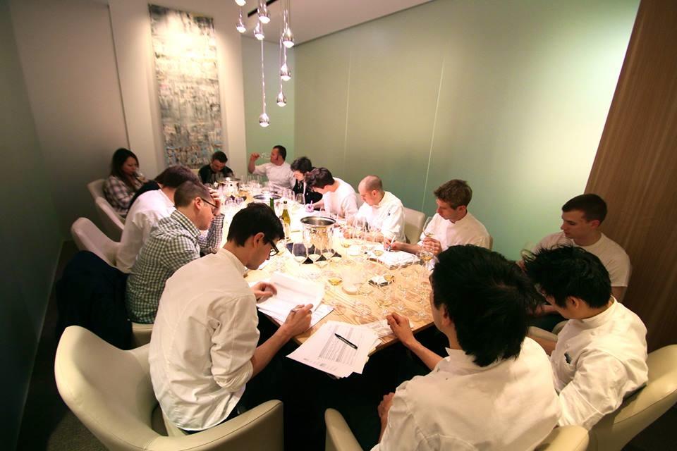 Grace Restaurant Staff Training Wine Flights