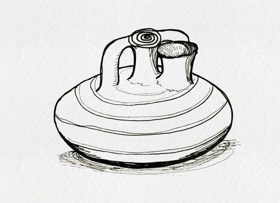 1400-bc-stirrup-jars