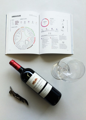 Wine Folly Book and Bordeaux Blend Wine