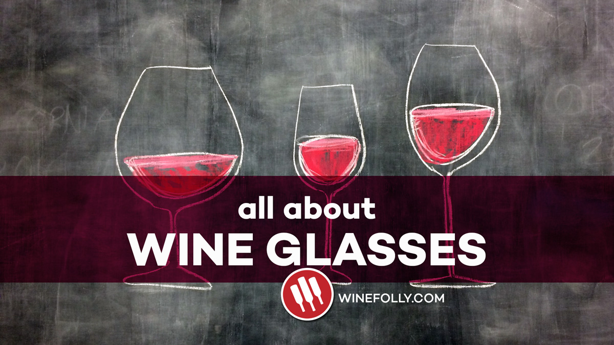 All about wine glasses video