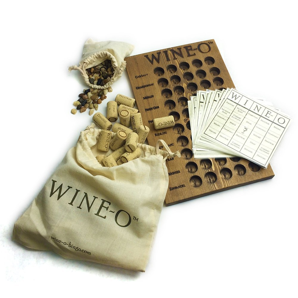 Wine-O Bingo Wine Game