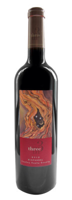 THREE WINE COMPANY ZINFANDEL 2013