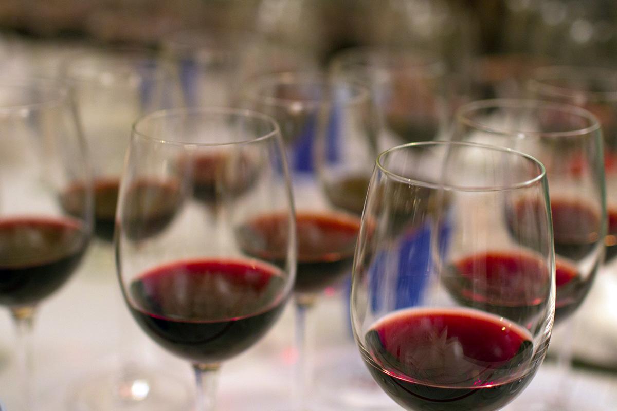 34 wines tasting challenge photo by Justin Hammack