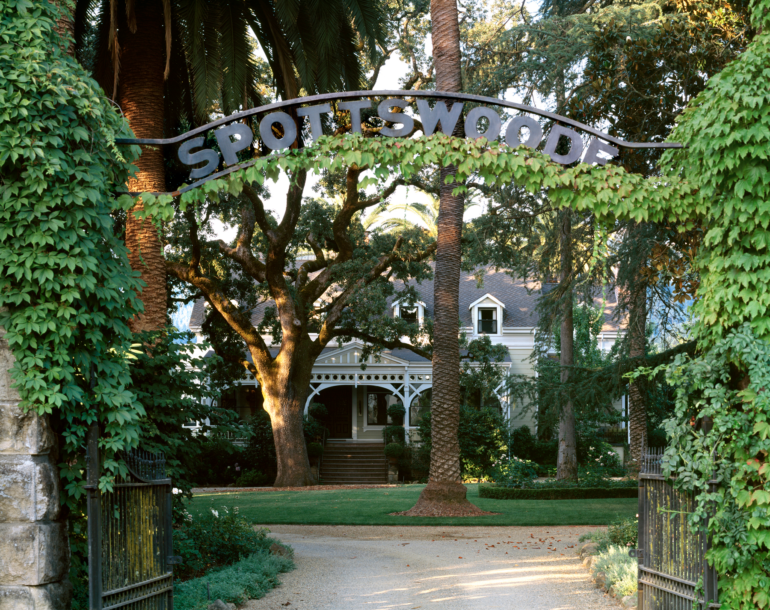 Spottswoode Winery in St. Helena, Napa Valley, CA photo by Thomas Heisner
