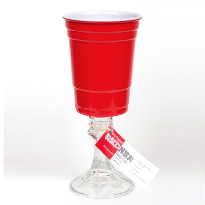 Red Neck Wine Glasses