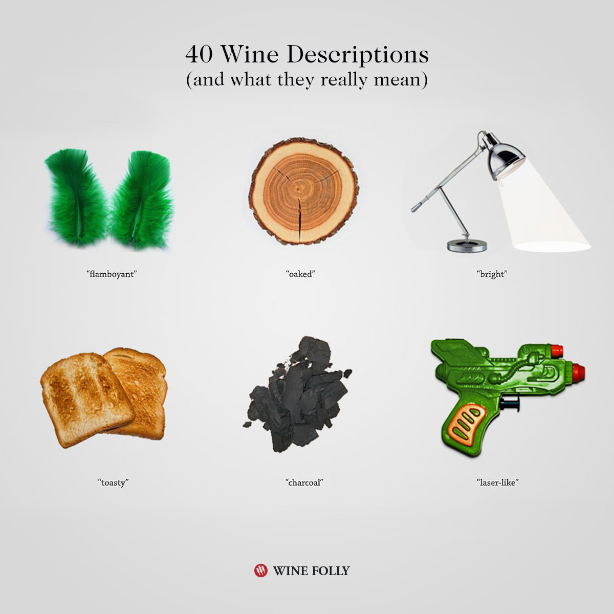 Wine Terms, Descriptions and what they really mean - by Wine Folly