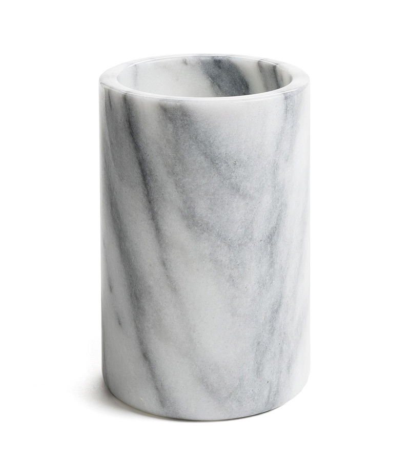4.5 x 6 inch Solid Marble Canister