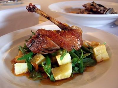 Duck in Madeira Sauce
