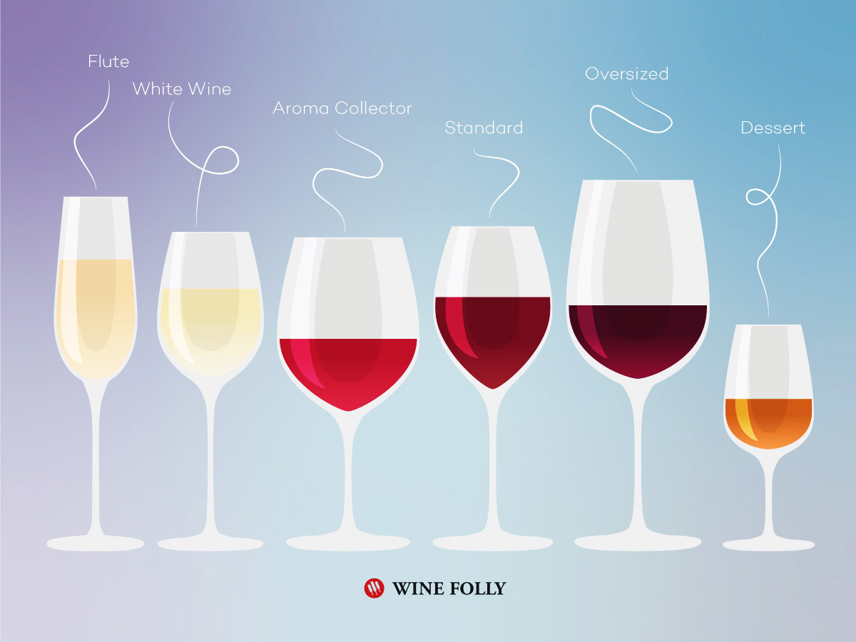 6 Wine Glasses To Rule Them All | Wine Folly