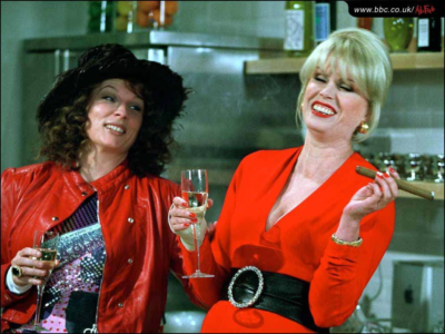 Abfab Patsy and Edina