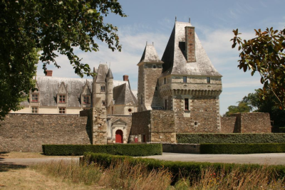 In its early history, Goulaine was probably a gateway fortress to the kingdom of Aquitaine