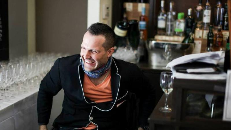 Yannick Benjamin, wine sommelier from Uncorked