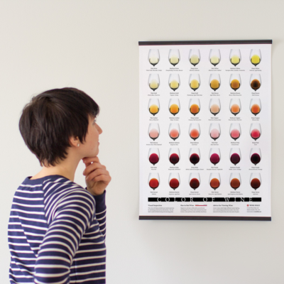 Color of wine Poster perspective