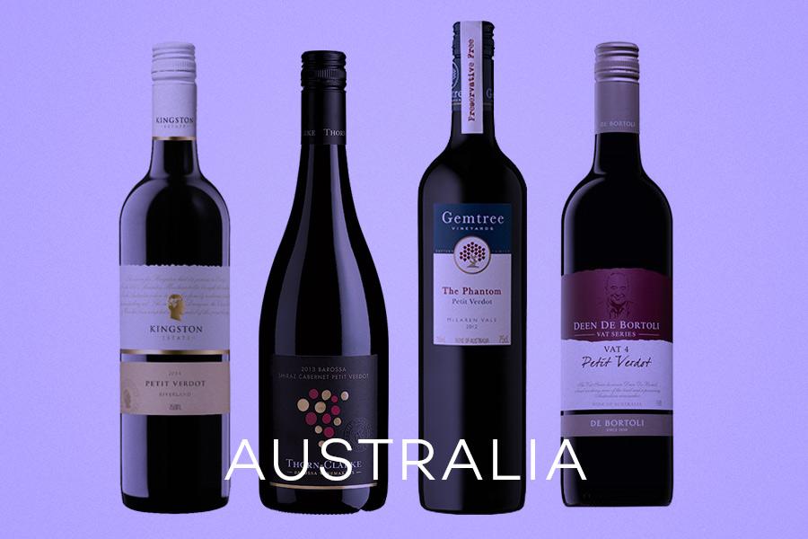 Examples of Australia Australian Petit Verdot Wines