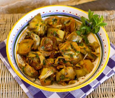 Carciofi-alla-Giudia-fried-jewish-artichoke