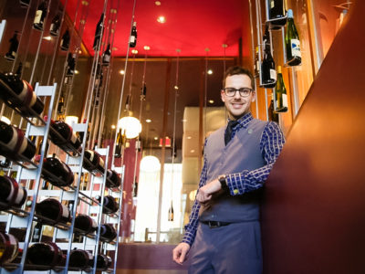carl Villeneuve Lepage Wine Sommelier in Montreal