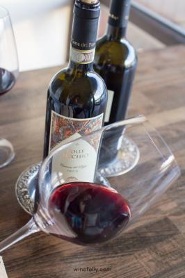 Cesanese wine Corti dei Papi Piglio
