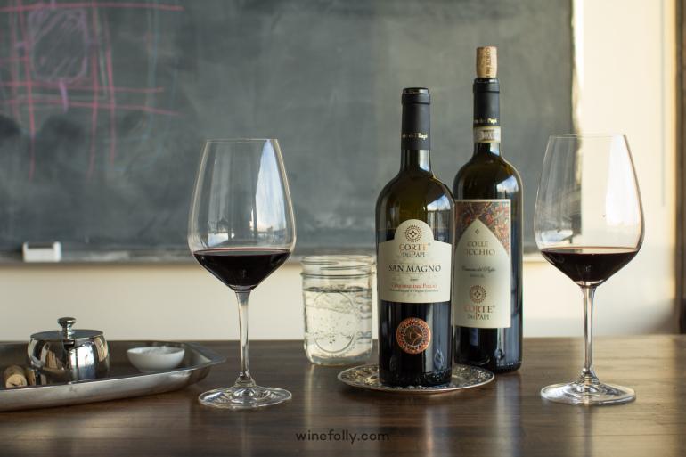 Cesanese Wine Corti dei Papi Piglio taste