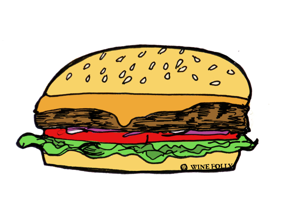 cheeseburger-illustration-winefolly