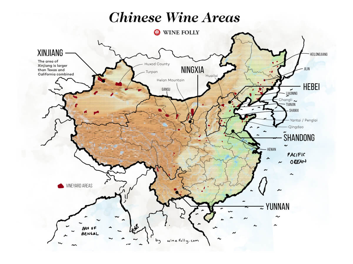 A Primer to Chinese Wine (Regional Guide with Maps)