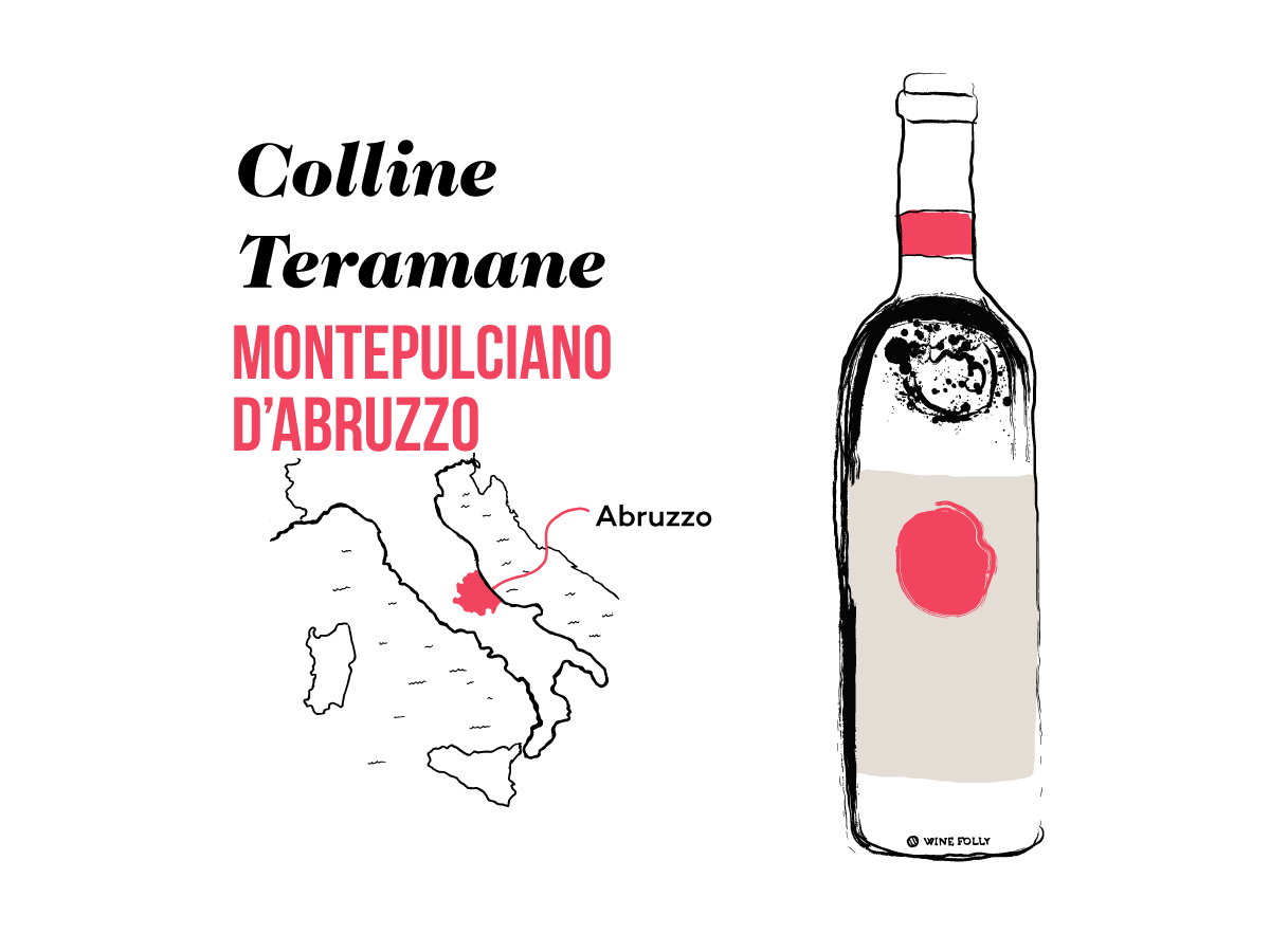 Colline-Teramane-illustration-winefolly