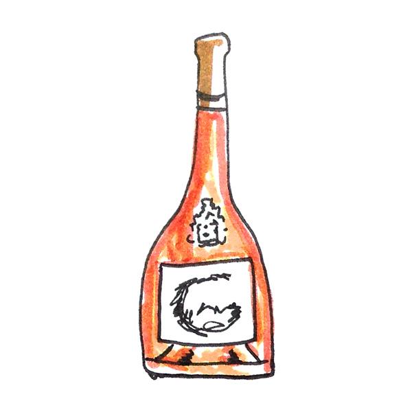 Corsica Rose wine