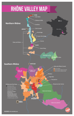 Cotes-du-Rhone-Wine-Region-Map