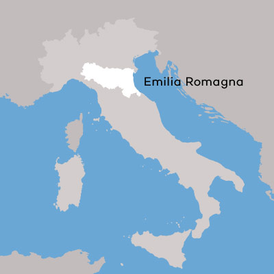 Emilia Romagna Wine Region Map by Wine Folly