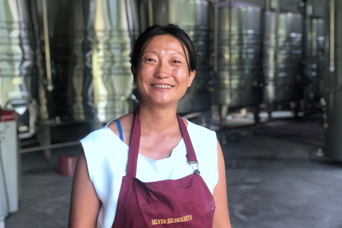 Emma Gao - Silver Heights Winery - Helanshan Mountain - China - Yhang Mei
