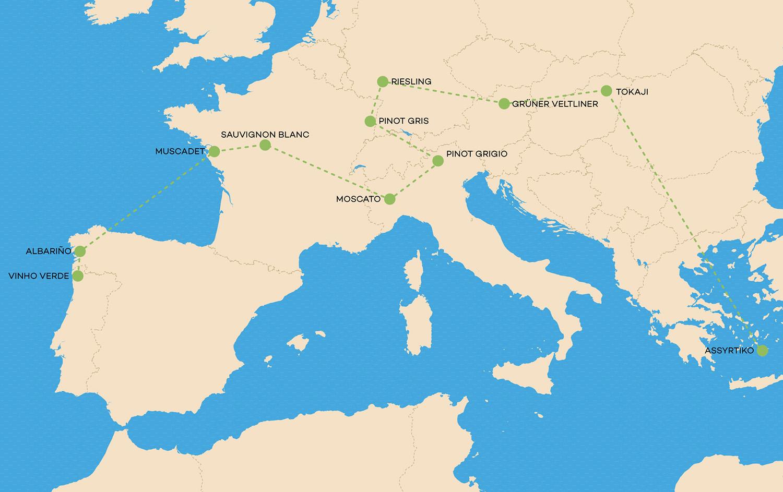 european-white-wine-map