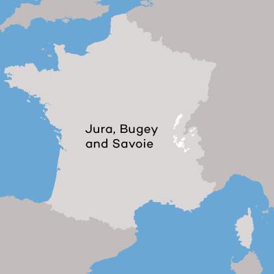 France-Jura-Bugey-Savoie-Wine-minimap