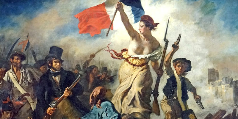 Painting of French Revolution.