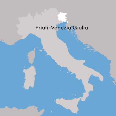 Friuli-Venezia Giulia Wine Region may by Wine Folly