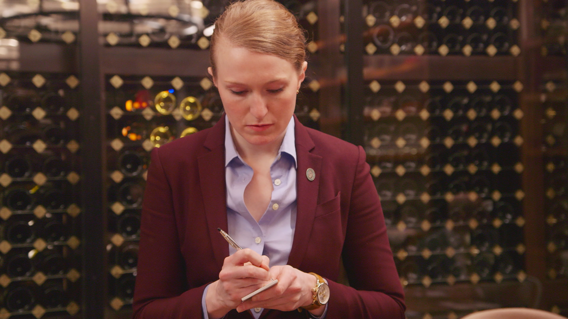 Jane Lopes, wine sommelier from Uncorked