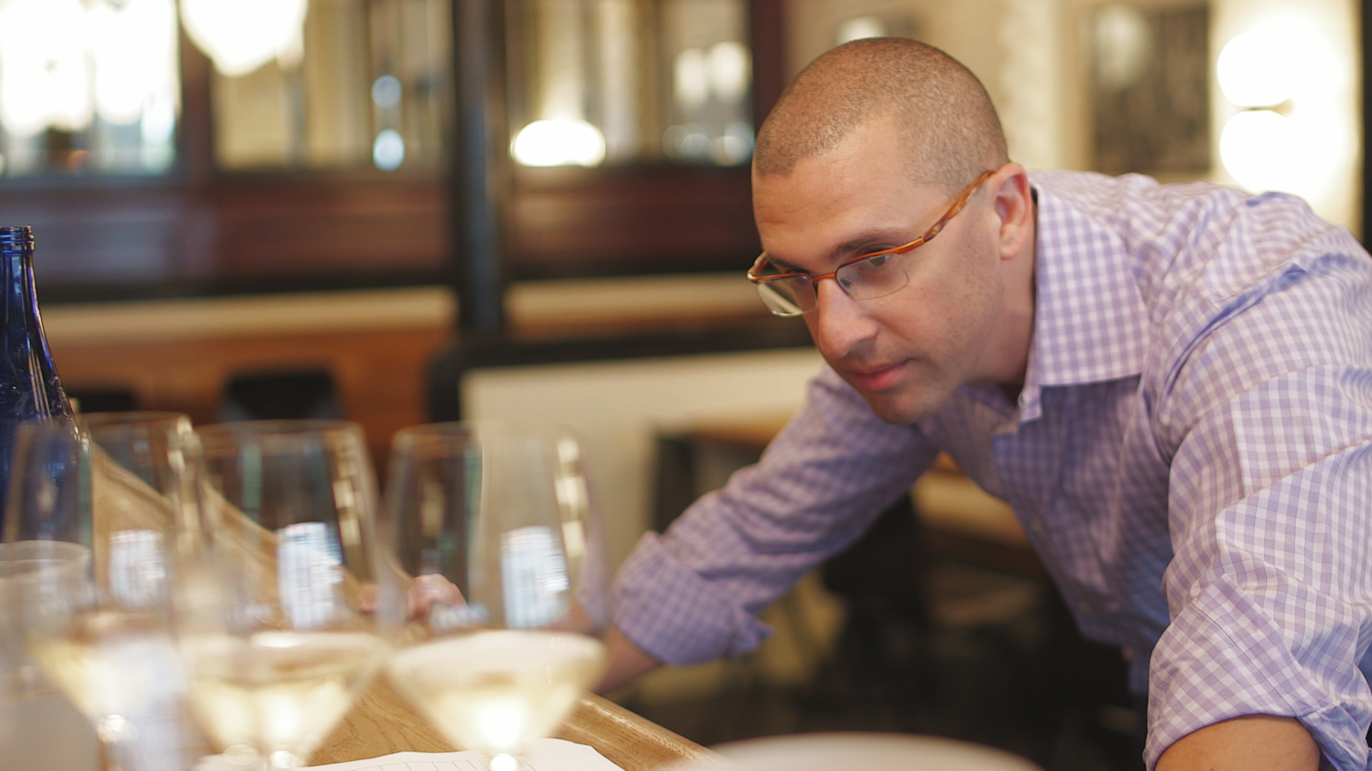 Josh Nadel, wine sommelier from Uncorked
