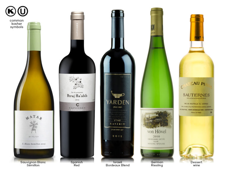 Several High Quality Kosher Wines