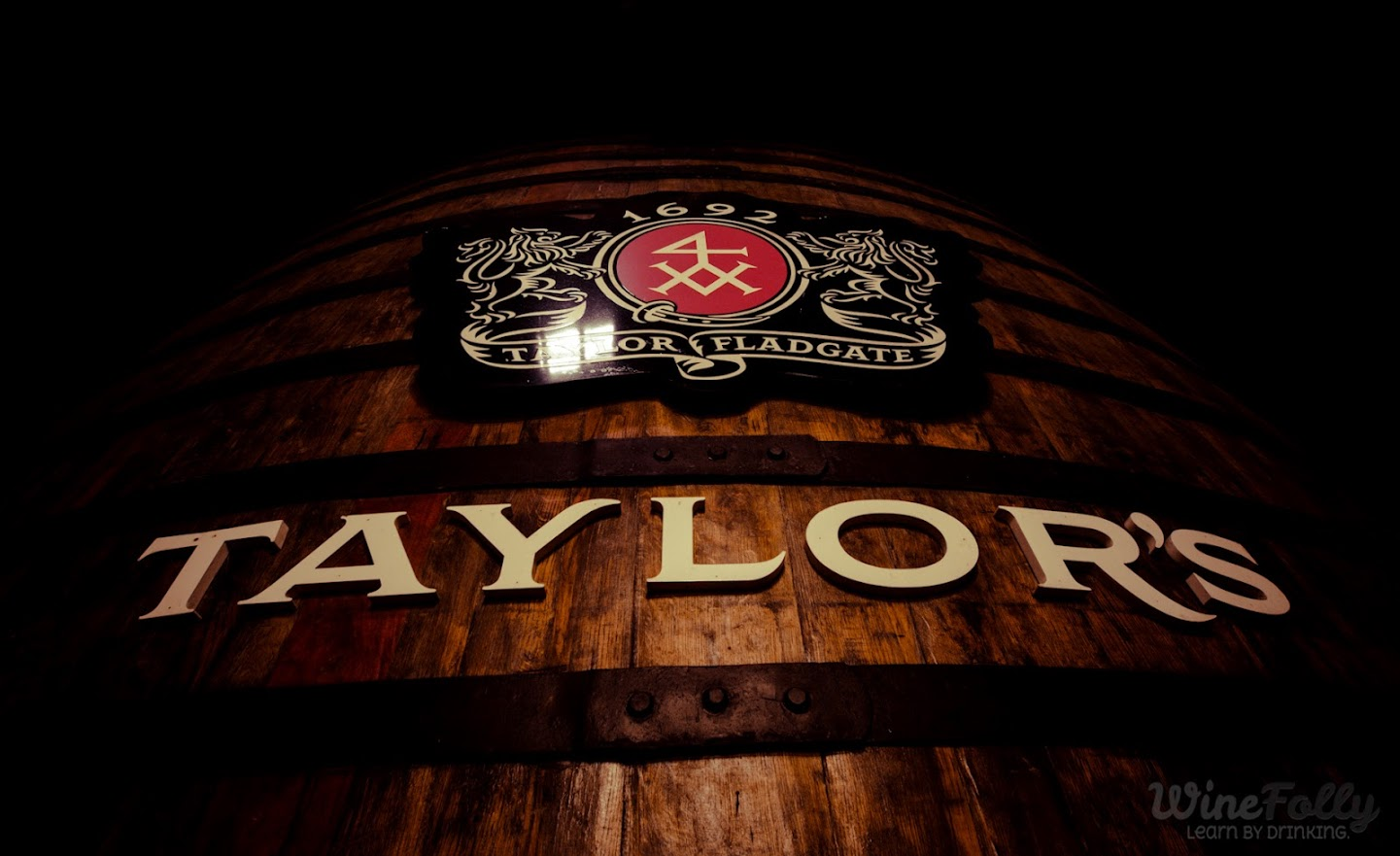 Aging Taylors Vintage Port in Balseiros (barrels)