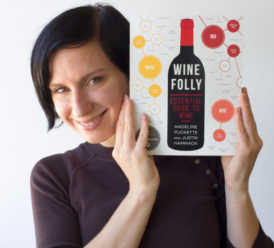 Wine Folly Book and author, Madeline Puckette in 2015 in Seattle, WA