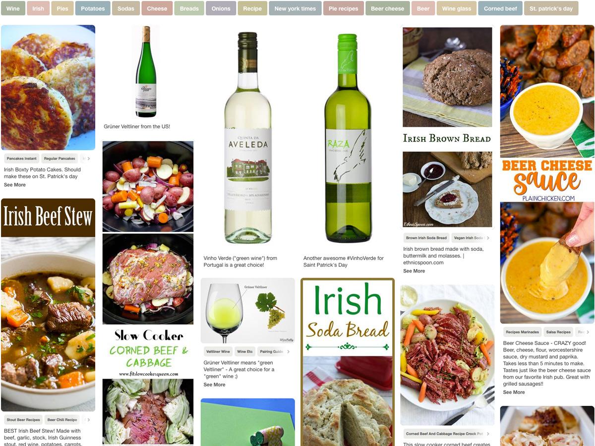 Irish-Saint-Patricks-Wine-Pairing-Pinterest-Board