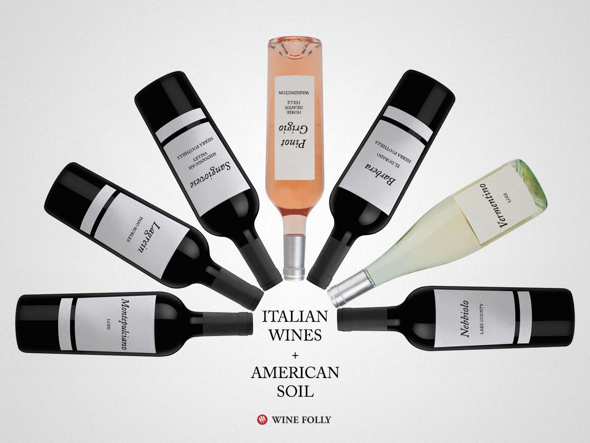 Italian-US-wines