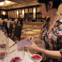Madeline Puckette at the ZAP Zinfandel Pro Tasting
