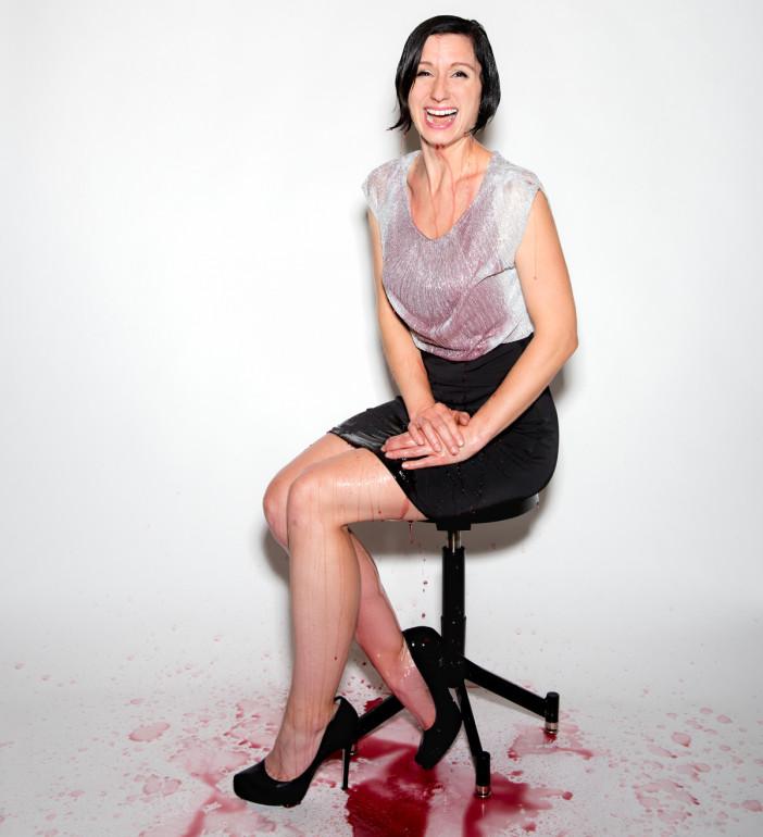 Madeline-Puckette-wine-dump
