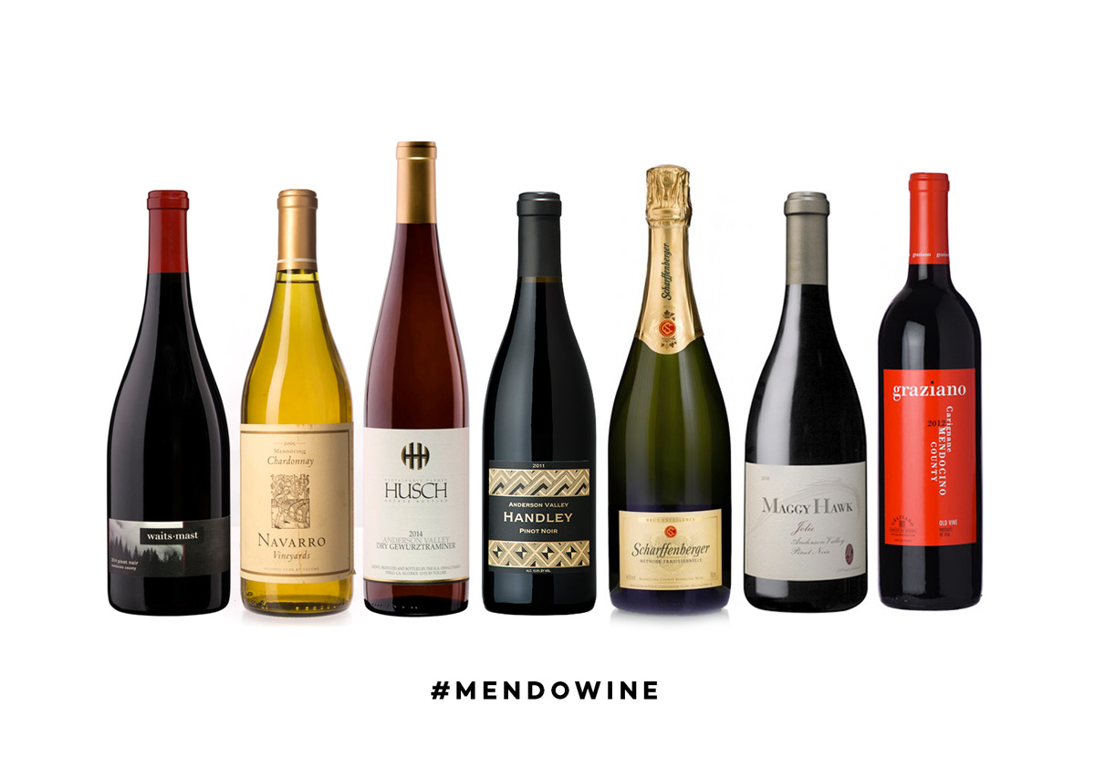 Popular Mendocino Wine Producers