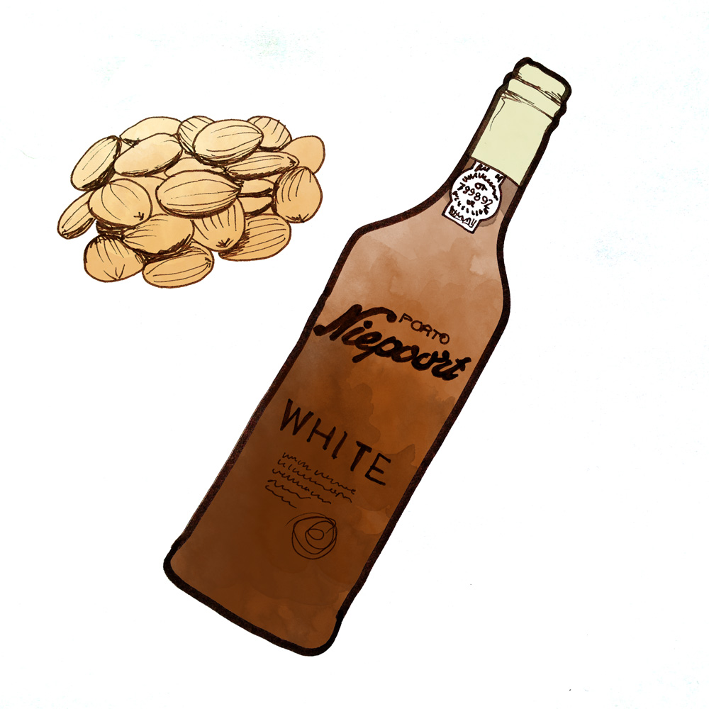 niepoort-white-port-almond-pairing