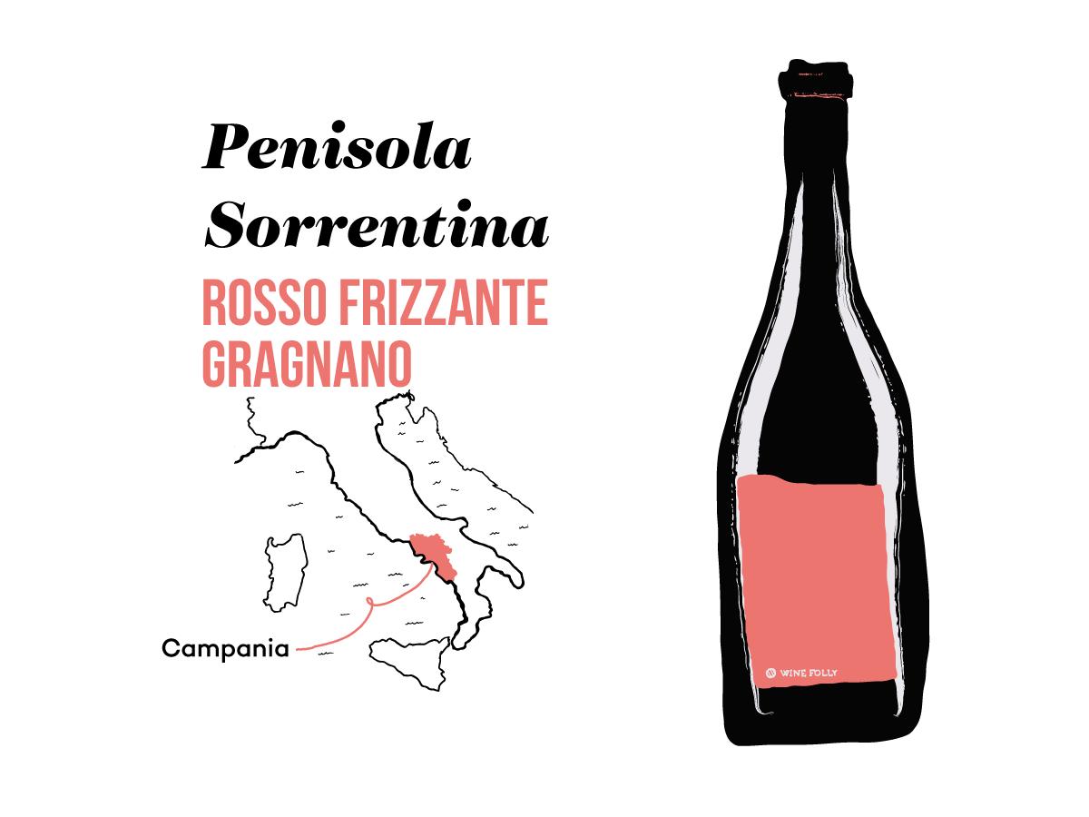 Penisola-Sorrentina-Rosso-Gragnano-illustration-winefolly