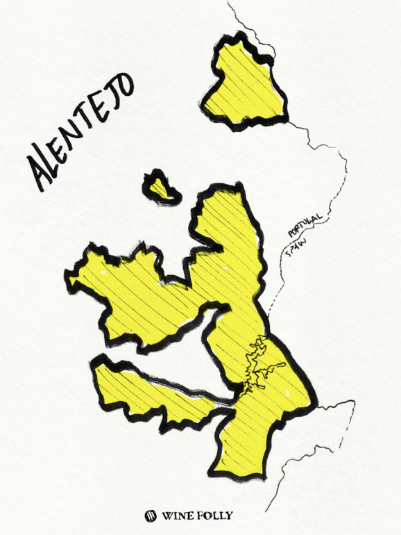 Portugal-illustrations-alentejo-wine-reigon