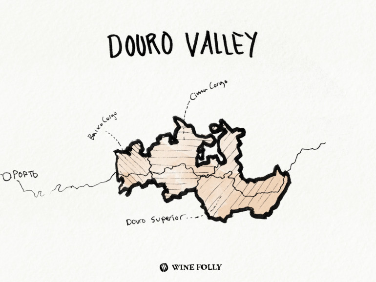 Portugal-illustrations-douro-valley