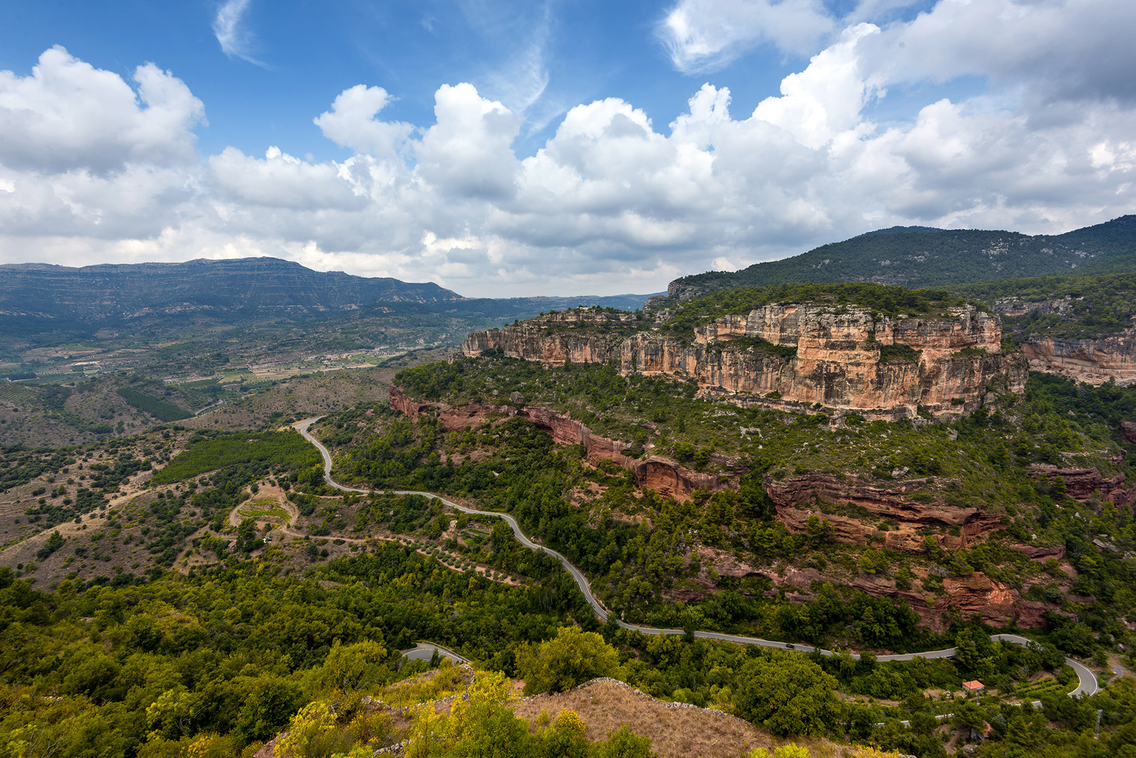 Priorat wine region driving roads by Cosmo_71